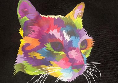 Fullcolor textielbedrukking voor t-shirts, polo's en meer