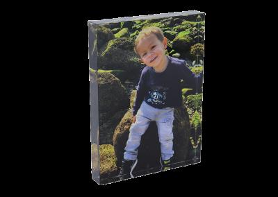 Foto drukken op kristal - fotogeschenk