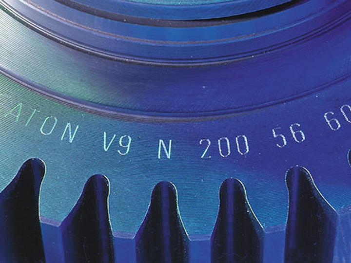 Graveren identificatie machine-onderdelen