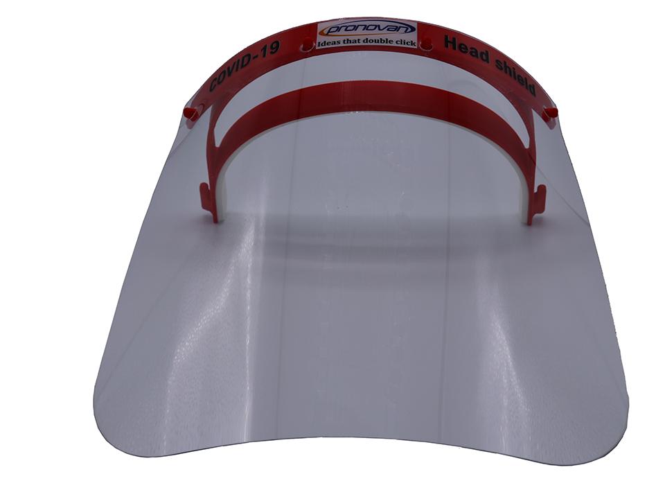 Covid-19 headshield - gelaatsmasker