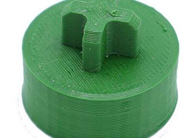 Tandwiel printen 3-D printer - printen onderdelen op maat
